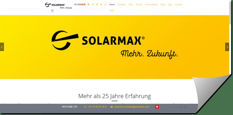 Solarmax Wieslistraße 2a | 9444 Diepoldsau